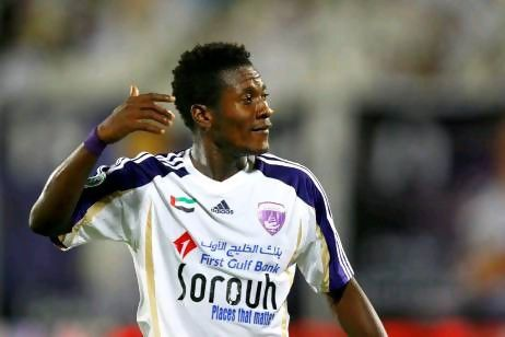 Asamoah Gyan now leads scorers chart in UAE with 28 goals