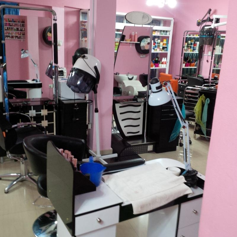 Harrison Afful's wife Beauty Parlour.
