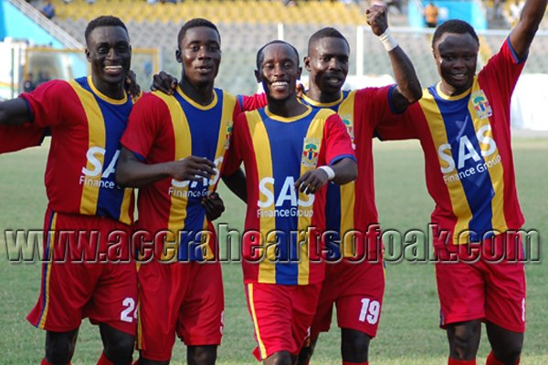 Hearts of Oak beat Inter Allies on Wednesday
