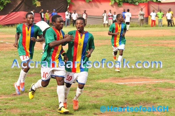 Hearts of Oak defeated Impilo FC 4-1