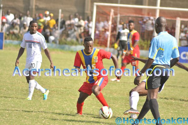 Hearts of Oak starlet Boakye in trouble after forging signature of team-mate to make drawing from bank account