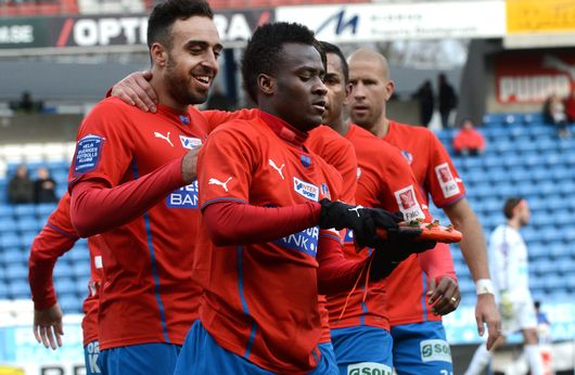 Helsingborg IF is named in Ghana's midfield