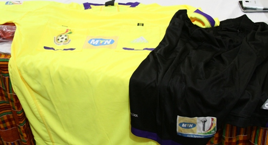 Branded kits for referees for FA Cup competition