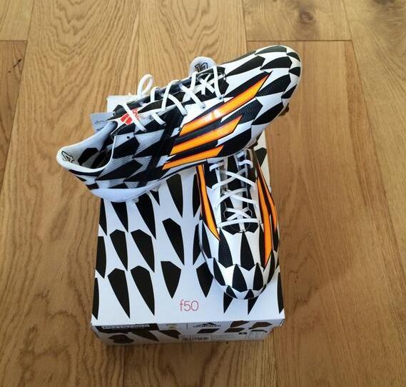 Jeffry Schlupp's World Cup boot