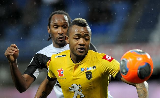 Jordan Ayew got on target for Sochaux