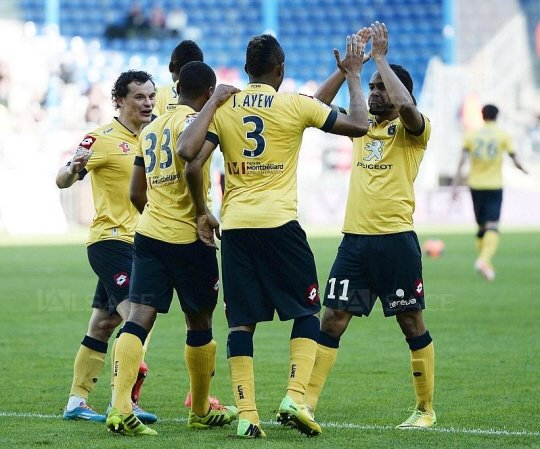 Jordan Ayew scored for Sochaux as they beat Stade Rennes at the Route de la Lorient