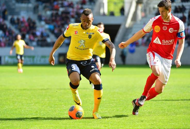 Jordan Ayew's Sochaux are relegated