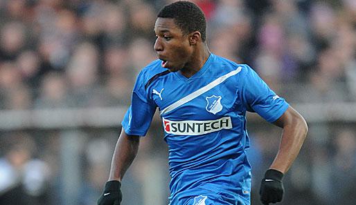 Joseph-Claude Agyeman Gyau was on the Hoffenheim bench on Saturday