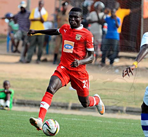 Kotoko defender Kwabena Adusei is eligible to play in Friday's game