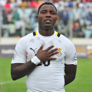 Kwadwo Asamoah not pressured to deliver for Ghana