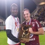 Ghana striker Kwame Nsor officially receives French Ligue 2 trophy and medal as Metz are crowned champions