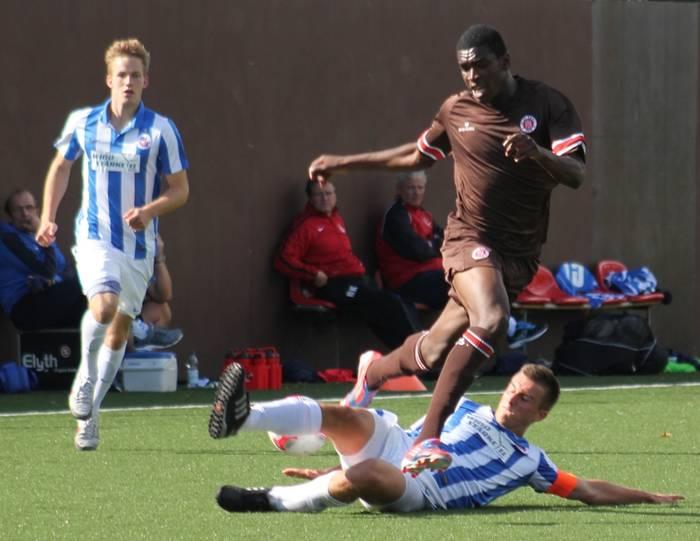 Kwasi Okyere Wriedt scored twice for St Pauli II