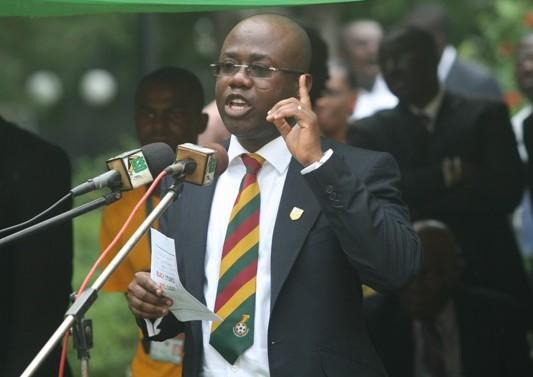 Kwesi Nyantakyi expects to run unopposed in 2015