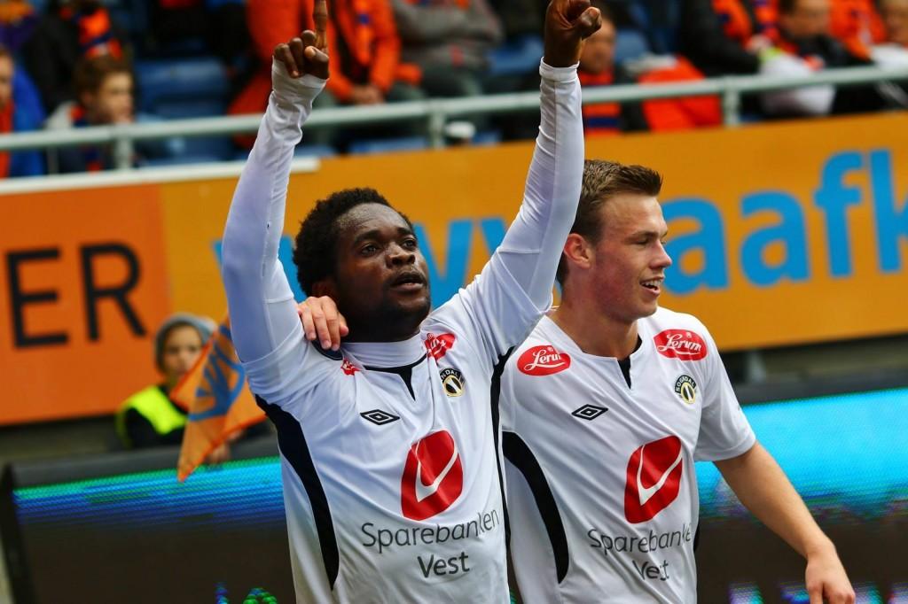 Mahatma Otoo scored for Sogndal