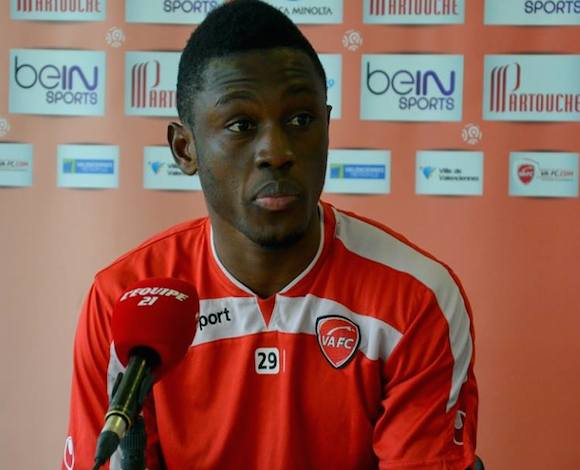 Valenciennes fans want Abdul Majeed Waris to stay at the club.