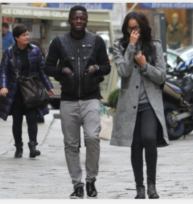 Sulley Muntari and wife Menaye Donkor