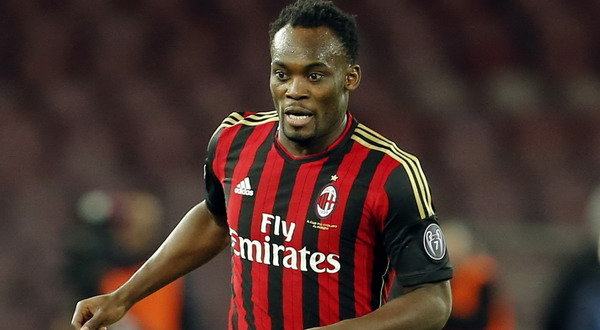 Michael Essien could head to Galatasaray