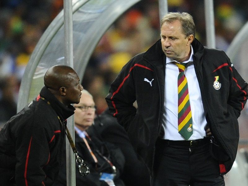Kwesi Appiah assisted Milovan Rajevac four years ago in South Africa