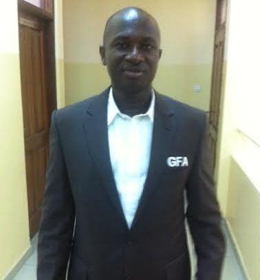 Executive Committee member Moses Armah