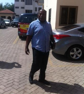Executive Committee member Fred Pappoe