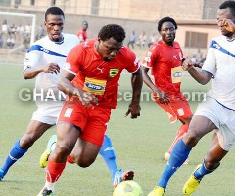 Kotoko midfielder Rahim Ayew savours first career title