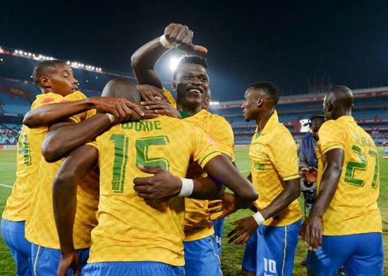 Rashid Sumaila has won his first major silverware at Mamelodi Sundowns