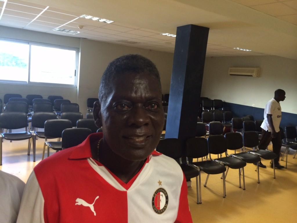 Gomoa Fetteh Feyenoord technical director Sam Arday