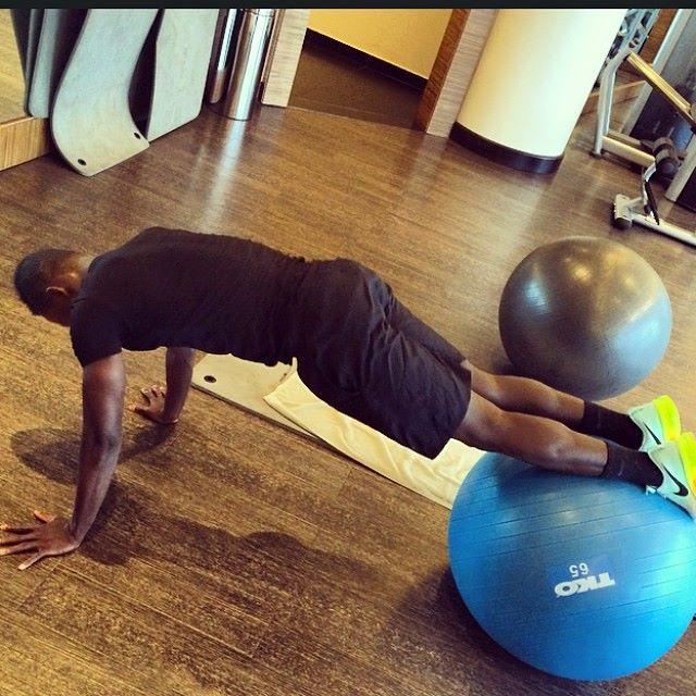 Samuel Inkoom keeps training ahead of Ghana camp