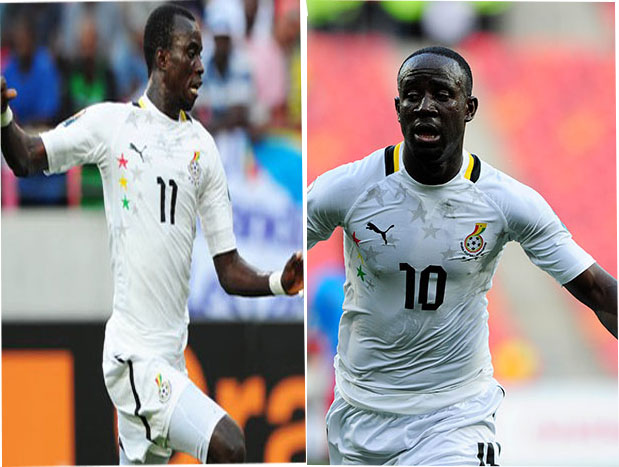 Kwesi Appiah is torn between Rabiu Mohammed and Albert Adomah
