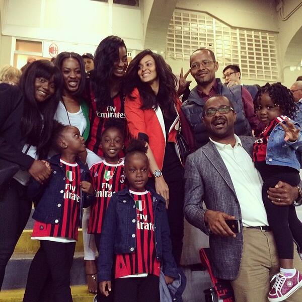 Sulley Muntari family