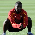 2014 World Cup: Sulley Muntari arrives to complete Ghana camp in the Netherlands