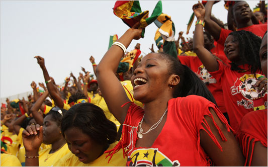 Ghanaian fans might have trouble getting entry to the match venues in Brazil
