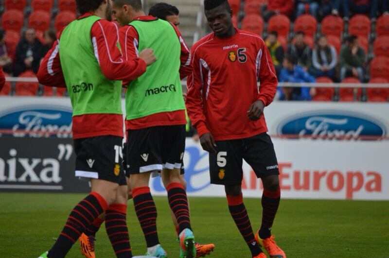 Thomas Partey has returned to training for Mallorca