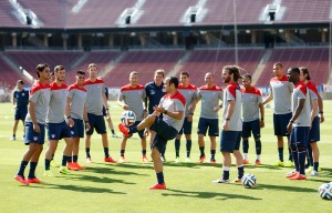 USA coach Jurgen Klinsmann has admitted that the pedigree of his players are below those of their group opponents Ghana, Portugal and Germany.