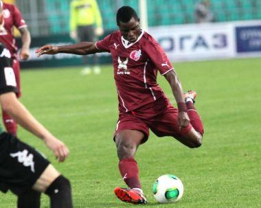 Mubarak Wakaso completes first season at Rubin Kazan
