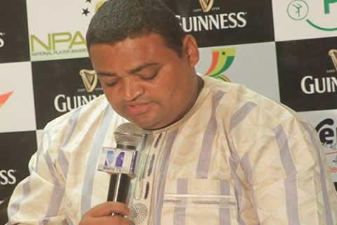 Ghana's deputy sports minister Joseph Yamin