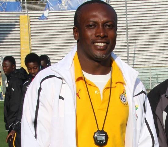 Ghana U20 coach Yaw Preko