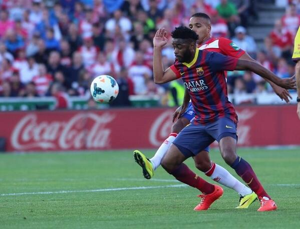Alex Song has been struggling at Barcelona