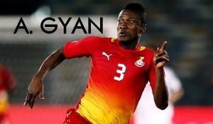 2014 World Cup: Asamoah Gyan bio and highlights - Ghana's star to watch