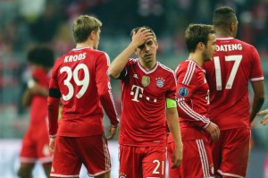 The current pitiful state of German teams in the Champions League bodes well for Ghana with the 2014 World Cup clash between the two countries looming.