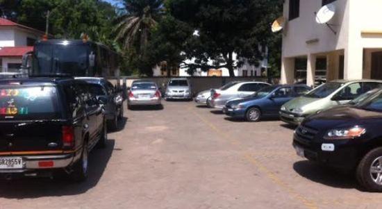 Car park filling up