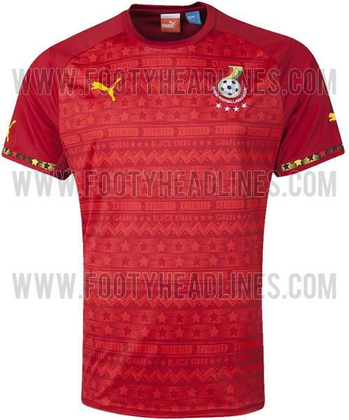 Ghana's away jersey