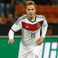 "Mario Goetze has jumped to the defence of his Germany team on Tuesday after Ghana midfielder Kevin-Prince Boateng described the German squad as ""characterless"" ahead of next month's World Cup clash."