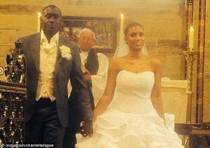 Former Liverpool, Leicester and England striker Emile Heskey has married his Ghanaian fiancee Chantelle Tagoe in a lavish ceremony in Australia.