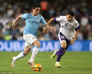 Al Ain were hammered 3-0 by visiting English champions Manchester City on Thursday night but the UAE giants were without their talismanic striker Asamoah Gyan.