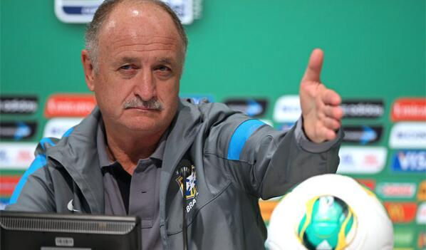 Luiz Felipe Scolari has named the 23 players he hopes will guide Brazil to World Cup glory on home soil this summer.