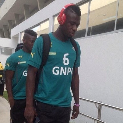 Afriyie Acquah could make his World Cup debut in Muntari's absence against Portugal