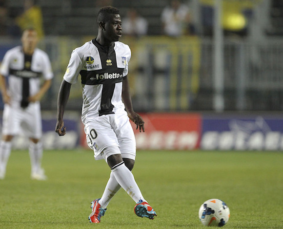 Afriyie Acquah in action for Parma.