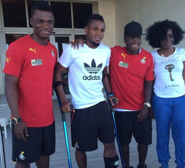 2014 World Cup: Ghana defender Jerry Akaminko undergoes successful ankle surgery