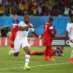 2014 World Cup: Ghana forward Andre Ayew rues early concession in USA defeat